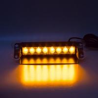 [PREDATOR LED vnútorné, 8x3W, 12-24V, oranžový, 240mm, CE]