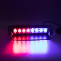 [PREDATOR LED vnútorné, 8x3W, 12-24V, červeno-modrý, 240mm, CE]