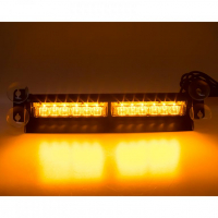 [PREDATOR LED vnútorné, 12x3W, 12-24V, oranžový, 353mm, CE]
