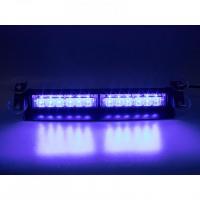 [PREDATOR LED vnútorné, 12x3W, 12-24V, modrý, 353mm, CE]