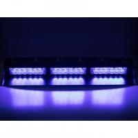 [PREDATOR LED vnútorné, 18x3W, 12-24V, modrý, 490mm, CE]