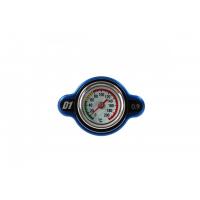 [Korek wlewu chłodnicy z termometrem D1Spec 28mm Blue 0.9Bar]