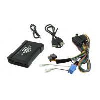 [Connects2 - ovládanie USB zariadenia OEM rádiom Fiat, Alfa Romeo / Blaupunkt AUX vstup]