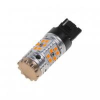 [LED T20 (7440) oranžová, CAN-BUS, 12-24V, 24LED / 3030SMD]