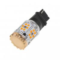 [LED T20 (3156) oranžová, CAN-BUS, 12-24V, 30LED / 3030SMD]