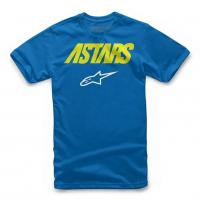 [Detské modré tričko ANGLE COMBO TEE Alpinestars krátke 3019-72000 79]