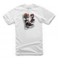 [Detské biele tričko TECH 7 BOOT TEE Alpinestars krátke 3019-72008 20]