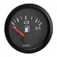 [Wskaźnik poziomu paliwa VDO rurowy 52mm 12V]