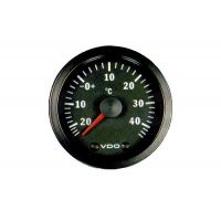 [Wskaźnik temperatury zewnętrznej VDO -25/+40C 52mm 12V CV]