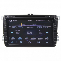 """[Autorádio pre VW, Škoda s 8 """"LCD, GPS, multicolor, ČESKÉ MENU]"""