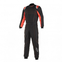 [Kombinéza Alpinestars KMX-9 V2 S SUIT - BLACK ORANGE FLUO]