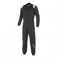 [Kombinéza Alpinestars KMX-9 V2 S SUIT - BLACK YELLOW FLUO]