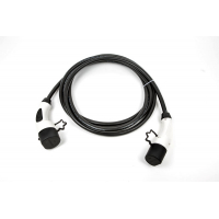 [Nabíjecí kabel Typ 1 (Yazaki) na Typ 2 (Mennekes) se zámkem - 32 A - 5m]