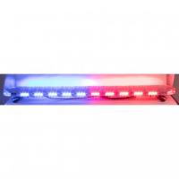 [LED rampa 1442mm, modrá / červená, 12-24V, ECE R65]