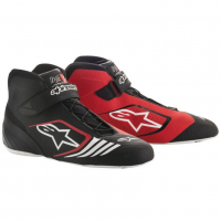 [Topánky Alpinestars  TECH-1 KX SHOES - BLACK RED]