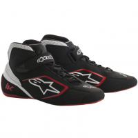[Topánky Alpinestars  TECH-1 K SHOES - BLACK WHITE RED]