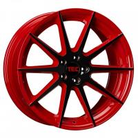 [TEC GT7 - BLACK RED 2 TONE]