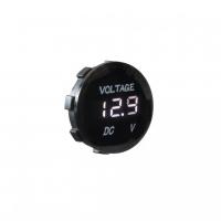 [Digitálny voltmeter 5-48V biely]