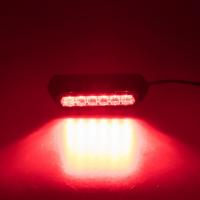[PROFI výstražné LED svetlo vonkajšie, červené, 12-24V, ECE R10]