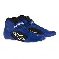 [Topánky Alpinestars TECH-1 K SHOES - BLK BLUE WHT v.44]
