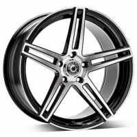 [WRATH ALLOY WHEELS WF-1 - GLOSS BLACK POLISHED FACE]