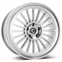 [WRATH ALLOY WHEELS WF-8 - SILVER POLISHED FACE]