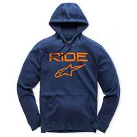 [Pánska modro-oranžová mikina RIDE 2.0 FLEECE Alpinestars 1119-51000 7032]