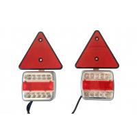 [Magnetická LED svítilna přívěsu, trojúhelník + drát 7,5 m]