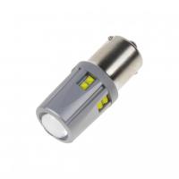 [LED BA15S 12-24V, 60W (12x5W) biela]