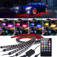 [Neony LED Undercar Kit 2x90cm 2x120cm]