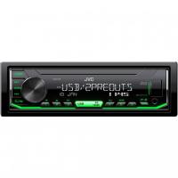 [JVC autorádio bez mechaniky / USB / AUX / multicolor podsvietenie / odnímateľný panel]