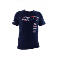 [Koszulka T-Shirt MTuning Granatowa XL]