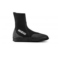 [Neoprénové topánky SPARCO - Vysoké Black]