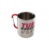 [Kubek metalowy 300ml Srebrny TurboWorks]