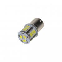[LED BA15s biela, 24 V, 18LED / 5730SMD]
