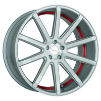 [CORSPEED DEVILLE - SILVER-BRUSHED-SURFACE/ UNDERCUT COLOR TRIM ROT]