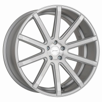 [CORSPEED DEVILLE - SILVER-BRUSHED-SURFACE/ UNDERCUT COLOR TRIM WEIß]