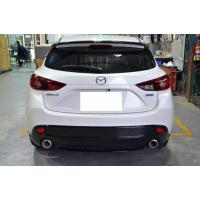 [Dokładka zderzaka tylnego Mazda 3 5D 14- MZ Style]