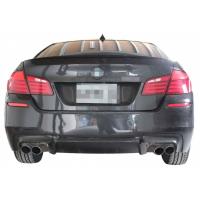[Zderzak tylny BMW F10 LCI 11-15 M5 Look (2 Podwójne końcówki)]