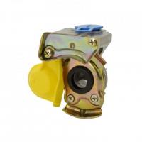 [Pneumatické rychloupínací zařízení - tvrdé, 16 mm žluté]