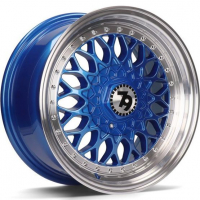 [79WHEELS SV-E - BLUE POLISHED LIP]