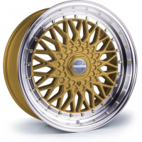 [Dare RS - Gold Polished / Chrome Rivets]