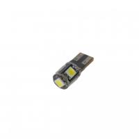 [LED T10 biela, 12V, 5LED / 3SMD]