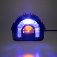 [PROFI LED výstražné svetlo-oblúk 10-80V modrej, 138x126mm]