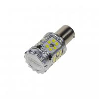 [LED BA15s biela, CAN-BUS, 12-24V, 30LED / 3030SMD]