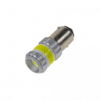 [LED BAY15d biela, dvouvlákno, COB 360?, 9-60V, 12W]
