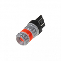 [LED T20 (7443) červená, COB 360?, 9-60V, 12W]
