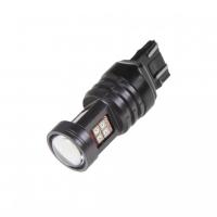 [LED T20 (7443) oranžová, 12-24V, 15LED / 2835SMD]
