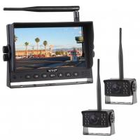 """[SET bezdrôtový digitálny kamerový systém s monitorom 7 """"AHD + 2x bezdrôtová AHD kamera]"""