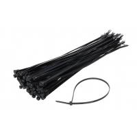 [Stahovací pásky černé 4,8x300mm - 100 ks]